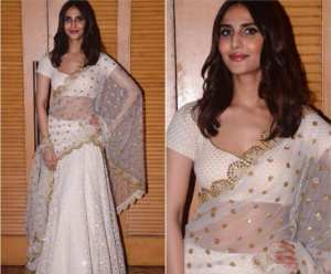 dfdfa compressed 300x248 Actress Vaani Kapoor appeared in Simple and bold combinations, in Pictures Watch Here