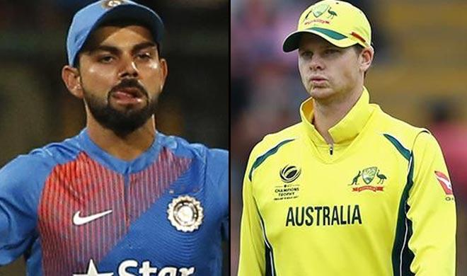India wins toss, bat first against Australia in thefirst ODI