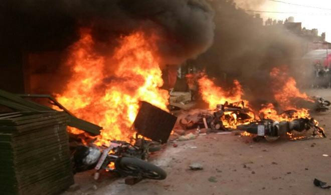 Communal clashes, arson and stone pelting in Kanpur; 30 injured