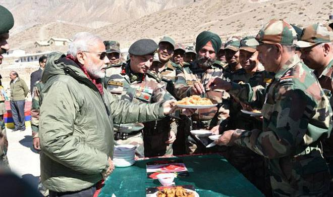 Jawans my family: Modi celebrates Diwali with soldiers in Gurez, J&K