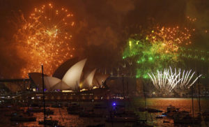 sydney 1514740890 300x182 Happy New Year 2018: New Years Day with Fireworks in New Zealand Australia, Preparing for Celebration in India