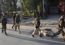 Militants Hurl Grenade in Police Station Terrorist in Custody Killed