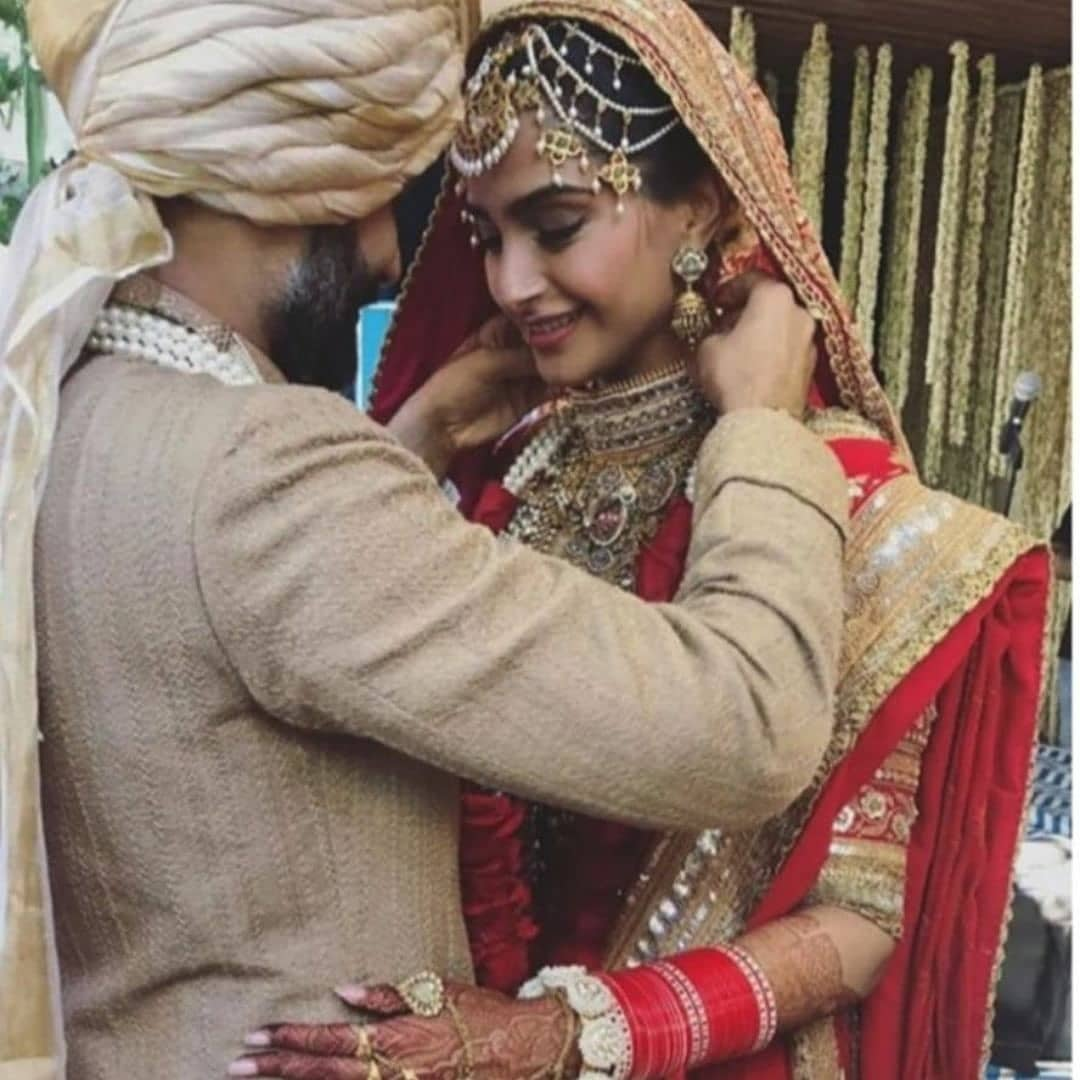 Sonam Kapoor and Anand Ahuja Gets Married, See Wedding Pics 5