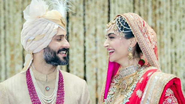 Sonam Kapoor and Anand Ahuja Gets Married, See Wedding Pics 2